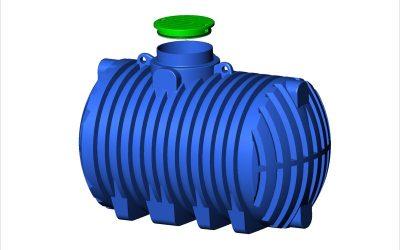 Ondergrondse watertanks