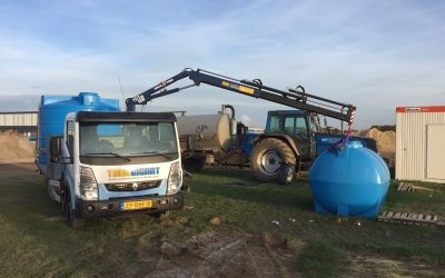Verhuur watertanks